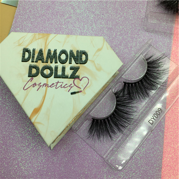 Custom logo lashes packaging boxes