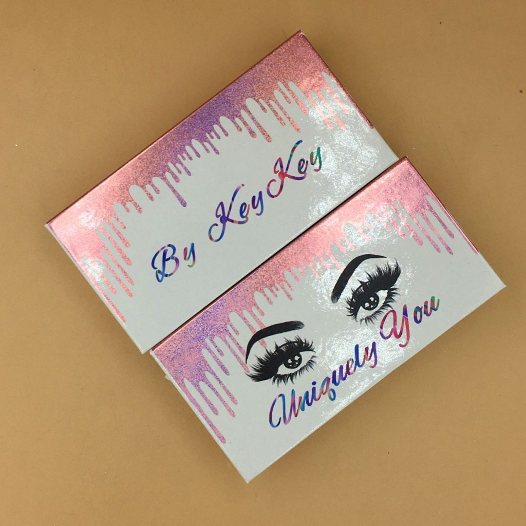 Mink lashes packaging boxes