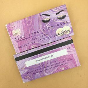 Bank card Lash Boxes