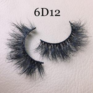 6D12 mink lashes