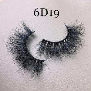 6D mink lashes 6D19