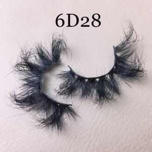 6D28 mink lashes