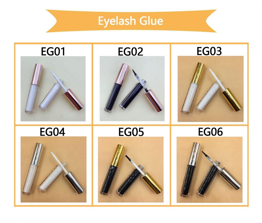Regular eyelash glue